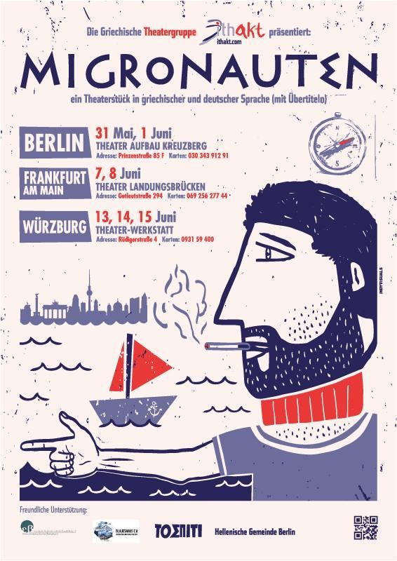 Migronauten - poster