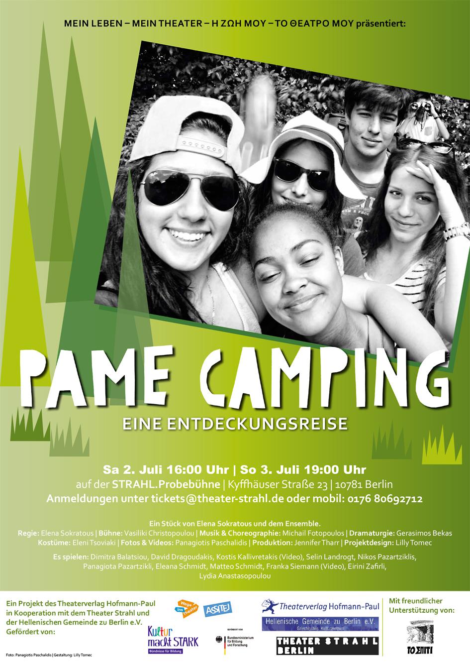 Pame Camping: Eine Entdeckungsreise - poster